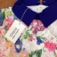 Cliona Lace Print Dress เดรสลูกไม้ ลายดอกไม้ ปกคอเชิ้ต thumbnail 4