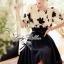 Lady Ribbon ชุดเซ็ตเสื้อปักลายดอกไม้ พร้อมกระโปรงยาว thumbnail 3