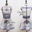 Lady Ribbon Givenchy Print Mini Dress มินิเดรสผ้าซิลค์พิมพ์ลาย thumbnail 10