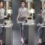 Seoul Secret ชุดเซ็ทเสื้อกางเกงเข็มขัด thumbnail 2