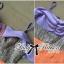 Lady Ribbon เดรสเปิดไหล่ผ้าทวีด ตัดต่อกระโปรงทรง A thumbnail 10