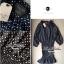 Lady Ribbon Polkadot Dress เดรสกระโปรงระบายลายจุด thumbnail 12