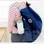 3 Way Easy to Carry bag กระเป๋าเป้พับเก็บได้ สะพายได้ 3 แบบ thumbnail 5