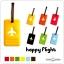 HAPPY FLIGHT Square Luggage Tag ป้ายห้อยกระเป๋าเดินทาง thumbnail 9