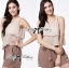 Lady Ribbon Lady Summer Playful Chic Layered Jumpsuit thumbnail 3
