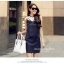 Marsh Mallow Jewels and Beaded Navy Blue Luxury Dress thumbnail 6