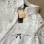 Lady Ribbon Cotton Shirt เสื้อเชิ้ตผ้าคอตตอน ฉลุลายลูกไม้ thumbnail 9