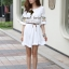 Seoul Secret Nifty Bohe Embroider Ivory Dress thumbnail 1