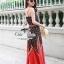 Odee Cutie Bohemian Maxi Dress แม็กซี่เดรสสายเดี่ยวสไตล์ vintage thumbnail 3