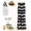 Maxi Dress Set ชุดเซ็ทเดรสตัวนอก และ เดรสตัวใน สีดำ thumbnail 2
