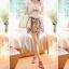 Cherry KOKO Sweet Floral Set ชุดเสื้อ กระโปรงผ้าชีฟอง พิมพ์ลายดอกไม้ thumbnail 3