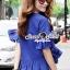 Seoul Secret Chic Sapphire Pants Set thumbnail 9