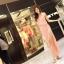 Sweet Pink Maxi แม็กซี่เดรสสีชมพู เปิดผ่าด้านข้าง thumbnail 5