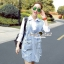 Seoul Secret Korea Denim Dress Shirt Mix thumbnail 3