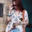 Seoul Secret เสื้อปักลายสไตล์สาวอินเดียนแดง thumbnail 1