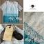 Lady Ribbon เสื้อลูกไม้ไล่สี สีชมพู สีฟ้า thumbnail 4
