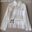 Lady Ribbon Cotton Lace Shirt เชิ้ตตัดต่อผ้าลูกไม้สุดหวาน thumbnail 8