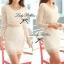 Lady Ribbon Lace Mini Dress มินิเดรสแขนยาว ดีเทลลูกไม้ทั้งตัว thumbnail 8