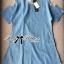 Lady Ribbon Cut-Out Loose Denim Dress thumbnail 9