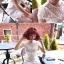 มินิเดรสผ้าลูกไม้ ปักฉลุลายดอกไม้ ชายกระโปรงลายขอบหยัก thumbnail 5