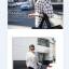 เสื้อตัวยาว ผ้าชีฟอง พิมพ์ลายกราฟฟิก สีขาว สีดำ thumbnail 9