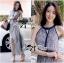 Lady Ribbon Paisley Chiffon Maxi Dress thumbnail 2