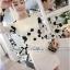 Lady Ribbon Elegant Monochrome Embroidered Lace Dress thumbnail 1