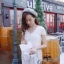 Ivory Knit Mini Dress มินิเดรสไหมพรม สีโทนอ่อน thumbnail 7