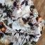 Lady Ribbon Set เซ็ตเสื้อแจ๊คเก็ต กางเกงขาสั้นพิมพ์ลายดอกไม้ thumbnail 8