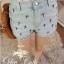 Cutie by Odee Denim Pants กางเกงยีนส์ขาสั้น ปักลายกางเขน thumbnail 7