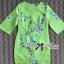 Lady Ribbon Eastern Blossom Print Dress in Green thumbnail 6