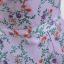 เดรสสีม่วง พิมพ์ลายดอกไม้ พร้อมผ้าผูกโบว์ที่เอวด้านหลัง thumbnail 9