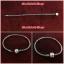 PANDORA : สร้อยข้อมือแพนโดรา สร้อยสีเงินรมดำ ขายพร้อม charms และ solaris clips thumbnail 4