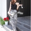 Lady Ribbon Smart Sexy Abstract Print Jumpsuit thumbnail 1