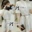 Lady Ribbon เดรสผ้าออร์แกนซ่าลายลูกไม้ ทรงเชิ้ต thumbnail 7