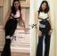 Lady Ribbon Elegant Minimal Chic Style Cut-Out Jumpsuit thumbnail 3