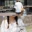 Lady Ribbon เสื้อสีขาวประดับลูกไม้ ทรงหลวม thumbnail 6