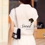 Seoul Secret จั๊มสูทกางเกงขายาว เอวผูกโบว์ thumbnail 8