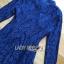Lady Ribbon Dress เดรสผ้าลูกไม้สีนํ้าเงินเข้ม thumbnail 7