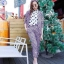 Violet Style Set ชุดเซ็ทเสื้อสูท กางเกงขายาวเจ็ดส่วน โทนสีม่วง thumbnail 1