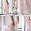 Icevanilla Pastel Sweet Stitching Embroidery Lace Dress thumbnail 7