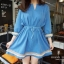 Marsh Mallow Viva Denim Dress thumbnail 6