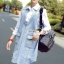 Seoul Secret Korea Denim Dress Shirt Mix thumbnail 5