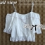 Lady Ribbon Lace Top เสื้อสายเดี่ยวเปิดไหล่ประดับผ้าลูกไม้ thumbnail 10
