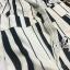 Sevy Moschino Stripped Short Bat Sleeve Jumpsuit thumbnail 10