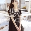 Icevanilla Romantic Black Lace Dress thumbnail 5