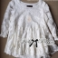 Lady Ribbon Floral Embroidered Layer Tulle Blouse in White thumbnail 11