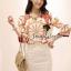 Seoul Secret D&G Style Set ชุดเซ็ทเสื้อ กระโปรงผ้าลูกไม้ thumbnail 2