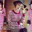 Seoul Secret Korea Chicly Stripe Maxi Knit thumbnail 3
