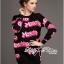 Barbie Girl Sweater Dress เดรสสเวตเตอร์ทอลายสไตล์ Moschino thumbnail 3